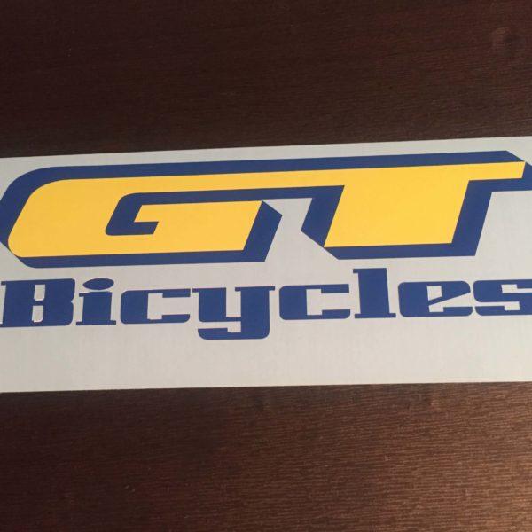 Купить наклейку на велик GT Bicycle