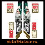 Наклейка на вилку Rock Shox BOXXER 2013 с джокером