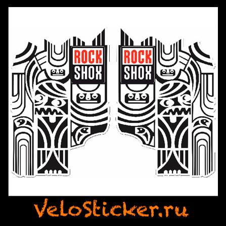 Наклейки для вилки Rock Shox Totem