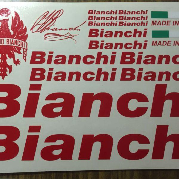 Наклейки на раму велосипеда BIANCHI