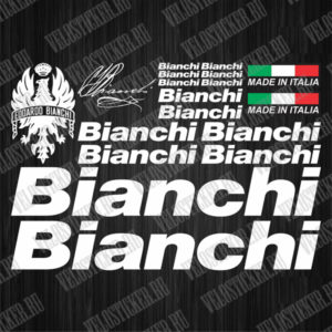 Купить наклейки для велосипеда BIANCHI