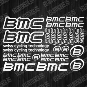 Велосипедные деколи BMC