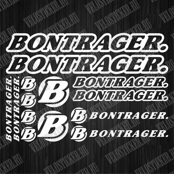 Купить наклейки на велик BONTRAGER
