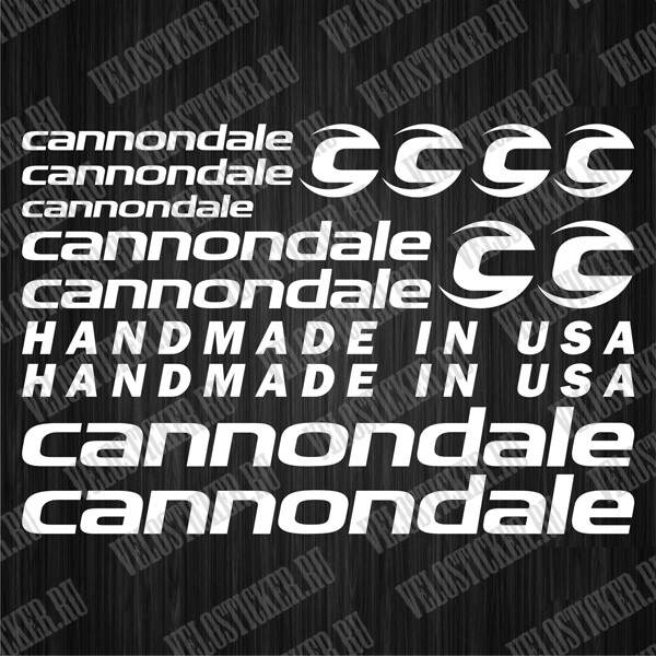 Деколи на велосипед CANNONDALE купить
