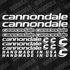 Купить комплект наклеек для CANNONDALE
