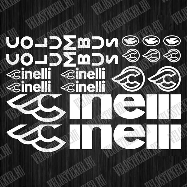 Комплект наклеек для велосипеда CINNELI