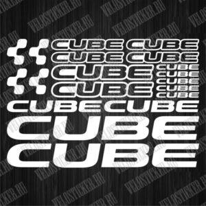 Купить наклейки CUBE