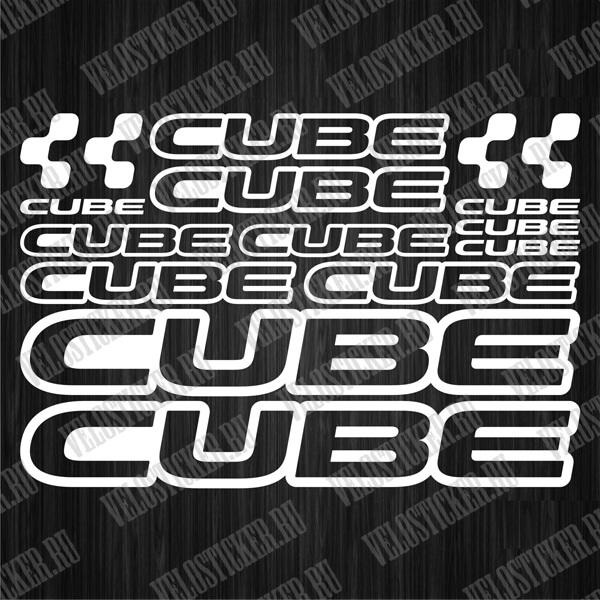 Купить комплект наклеек для велосипеда CUBE