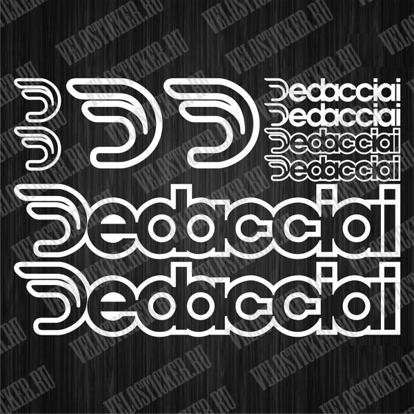 Купить комплект наклеек DEDACCIAI
