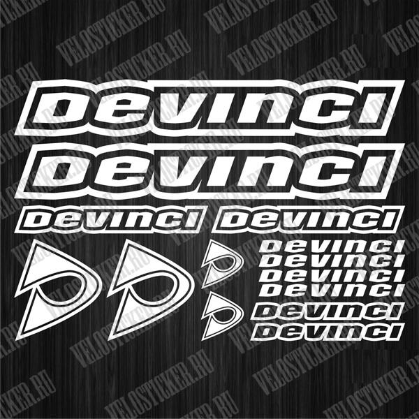 Купить велонаклейки DEVINCI в интернет-магазине