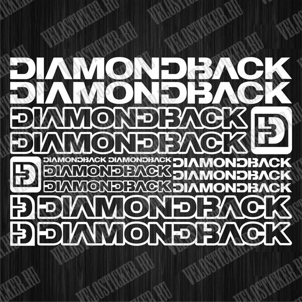 Купить наклейки и стикеры на велосипед DiamondBlack