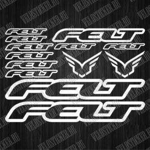 Купить набор деколей для велосипеда FELT
