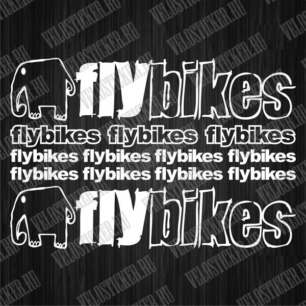 Наклейки для велоса FLYBIKES