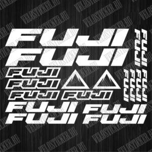 Комплект велосипедных наклеек FUJI