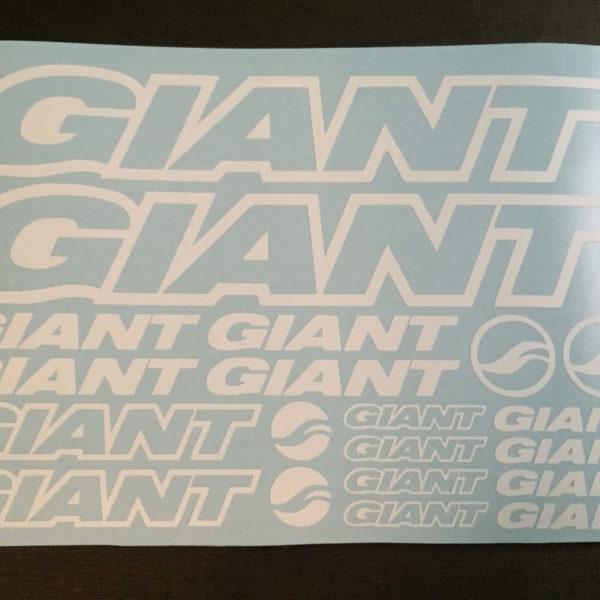 Купить наклейки GIANT для велосипеда