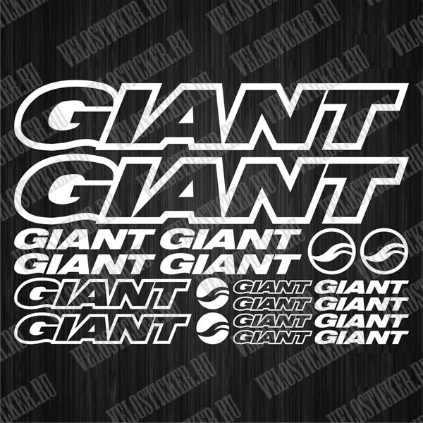 Купить велосипедные комплекты наклеек GIANT