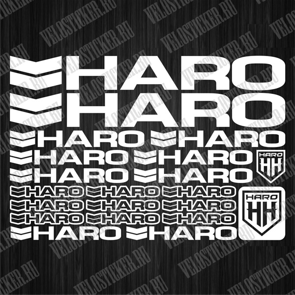 Набор наклеек HARO для велосипеда