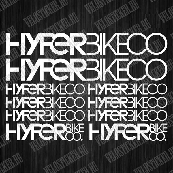 Купить наклейки на велосипед HIPERBIKECO