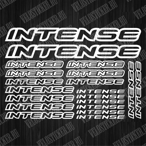 Купить виниловые наклейки для рамы велосипеда INTENSE