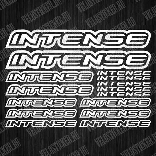 Велосипедные наклейки INTENSE