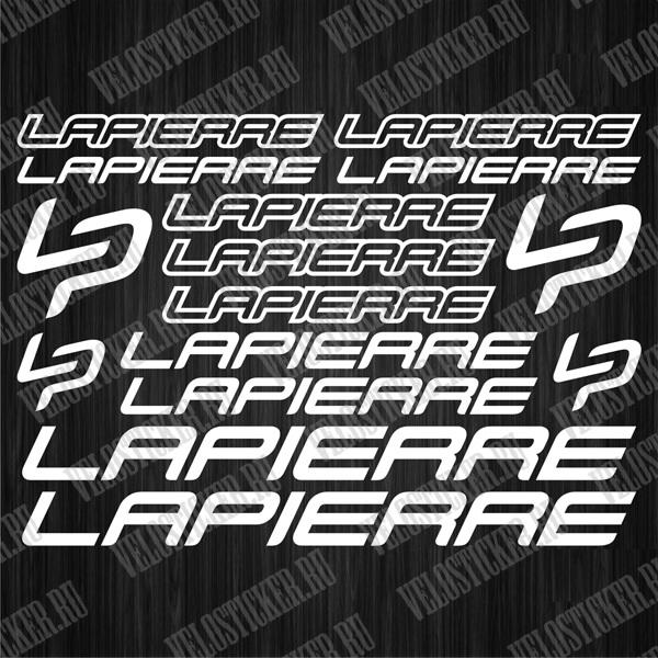 Купить наклейки LAPIERRE для велосипеда