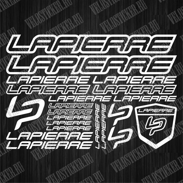 Где купить наклейки на велосипед LAPIERRE