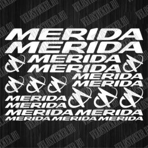 Комплект деколей для велосипеда MERIDA