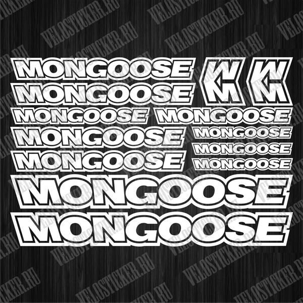 Купить наклейки на велосипед MONGOOSE