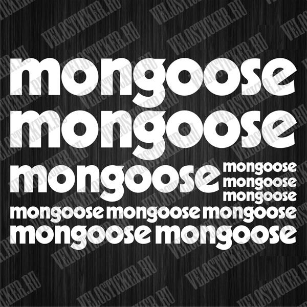 Наборы наклеек для велосипеда MONGOOSE