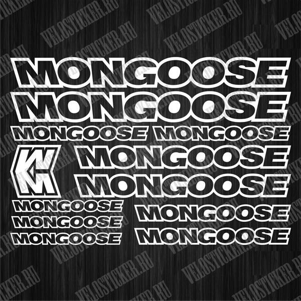 Велостикеры MONGOOSE
