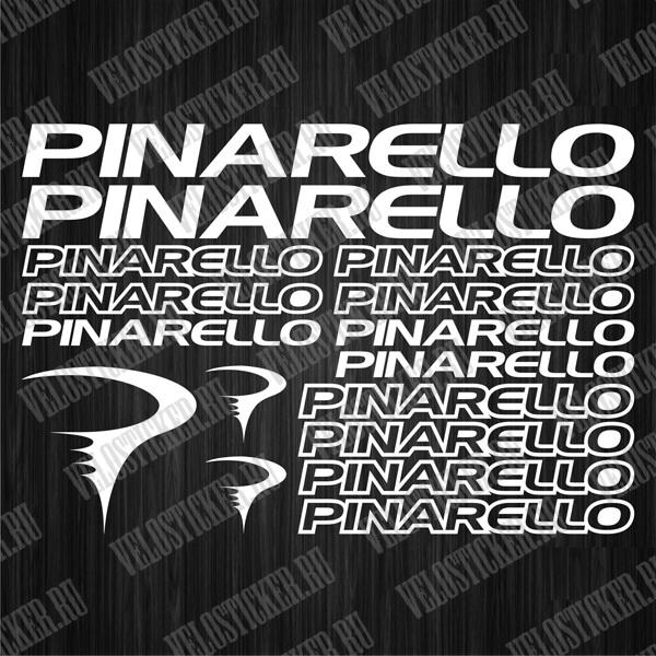 Купить оригинальные и кастомные наклейки для велосипеда PINARELLO