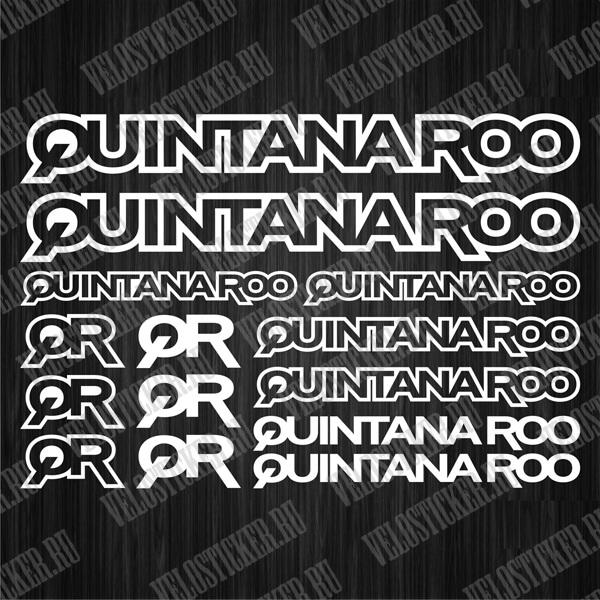 Купить наклейки для велосипеда QUINTANAROO