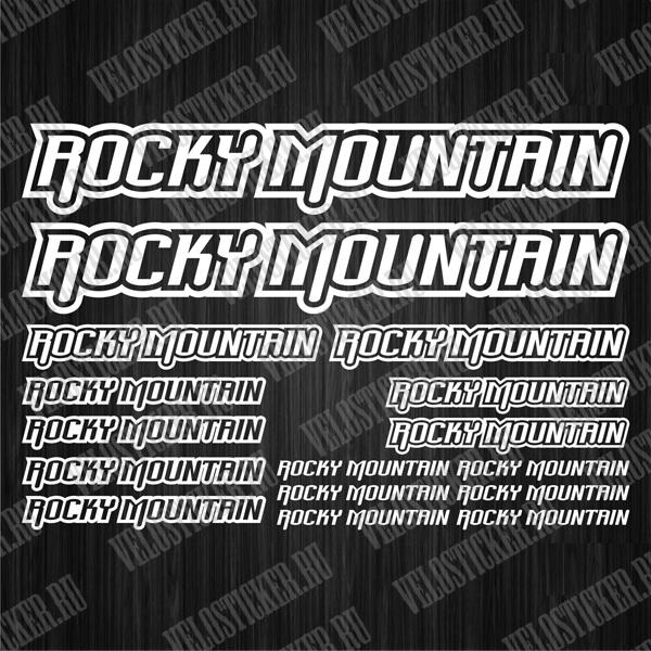 Купить комплект наклеек ROCKY MOUNTAIN для велосипеда
