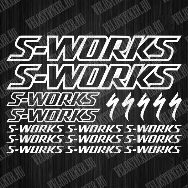 Наклейки для велосипеда S-WORKS