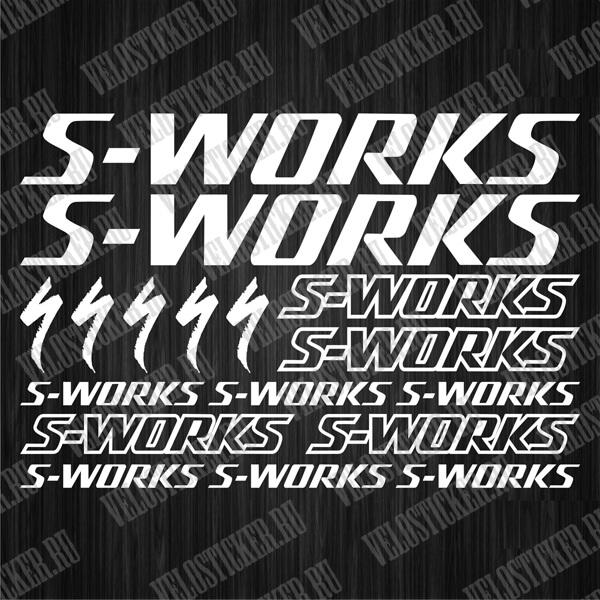 Наборы наклеек на велик S-WORKS