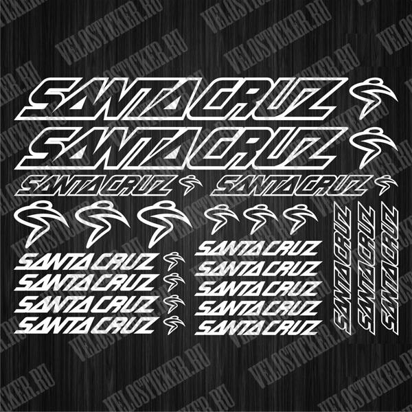 Комплект защитных деколей SANTA CRUZ
