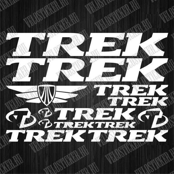 Купить набор наклеек на велосипед TREK